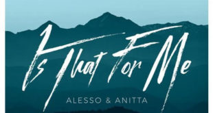 is that for me alesso aniita